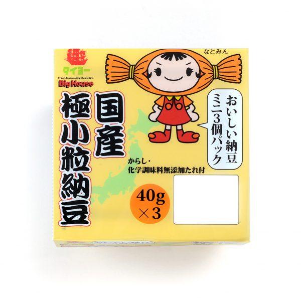 タイヨーオリジナル『国産極小粒納豆』