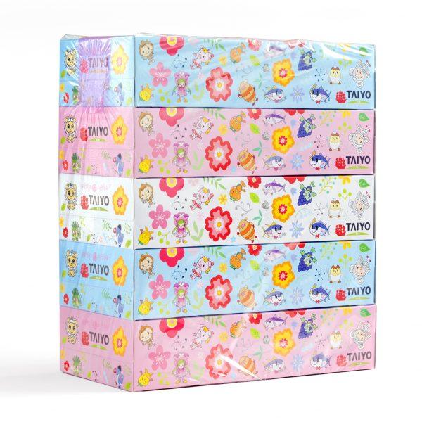 タイヨーオリジナル『ティッシュボックス5箱パック』