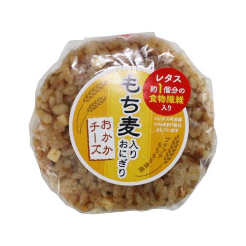タイヨーオリジナル『もち麦入りおにぎり(おかかチーズ)』